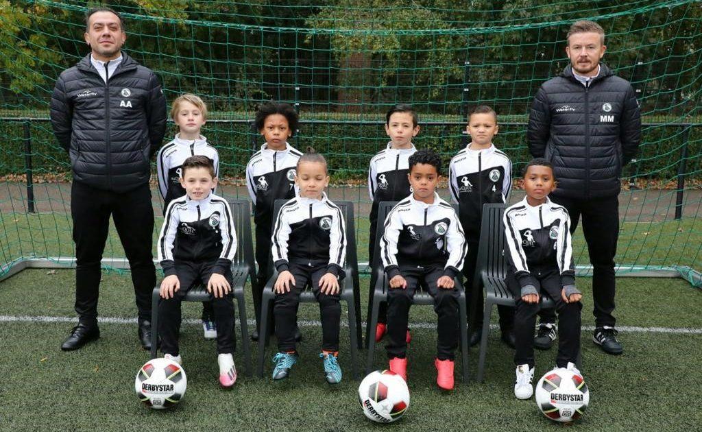 talentvolle jeugdelftal Spartaan '20 JO9-3